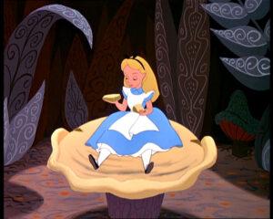 Alice+in+Wonderland+mushroom
